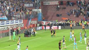 Trabzonspor Fenerbahçe karşılaşmasında olay