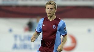 Trabzonsporlu futbolcu kendini buldu