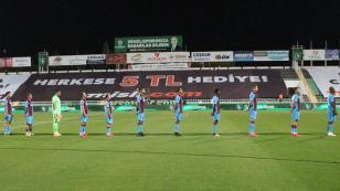 Trabzonspor, Denizlispor deplasmanında yenilmezlik serilerini bıraktı