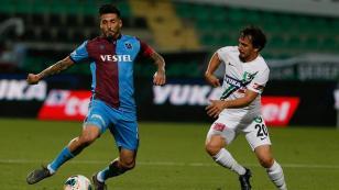 Trabzonspor'da tek eksik Sosa