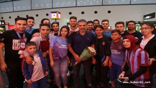 Trabzonspor ilk kamp için Slovakya'da