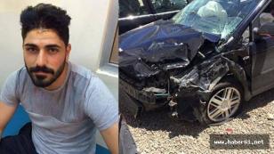 Trabzonsporlu oyuncu büyük kaza atlattı!