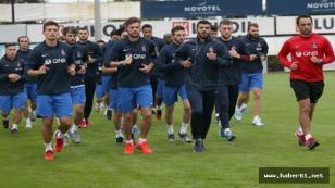 Trabzonspor güne koşu ile başladı