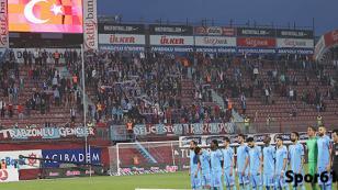 Taraftar Trabzonspor'u yanlız bıraktı