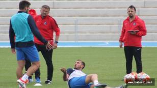 Trabzonspor antrenmanında gerginlik