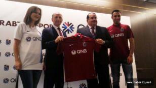 Trabzonspor QNB ile imzaladı