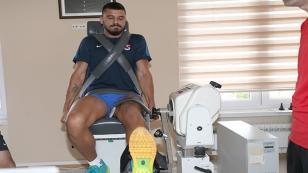 Trabzonsporlu oyuncuları zorlayan test