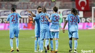 Trabzonspor'dan çok farklı istatistik