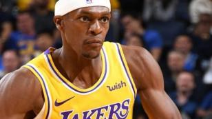 Lakers'ta Rondo şoku