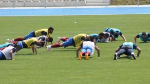 Trabzonspor'da cezalı antrenman