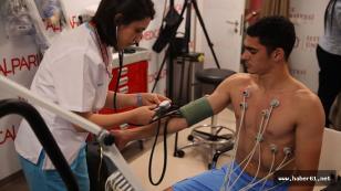 Trabzonspor'un yeni transferi sağlık kontrolünden geçti