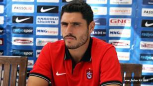 Trabzonspor'da Özer'e izin çıktı