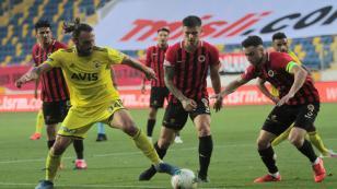 Gençlerbirliği ile Fenerbahçe berabere kaldı