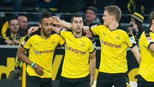 Düelloda kazanan Dortmund