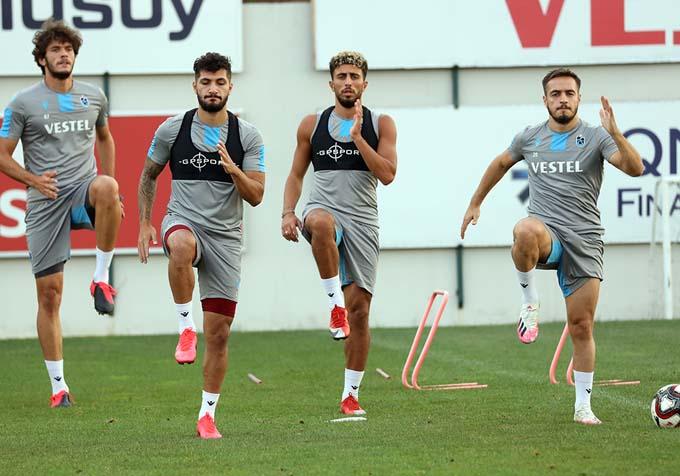 Trabzonspor'da Newton 11'i netleştiriyor