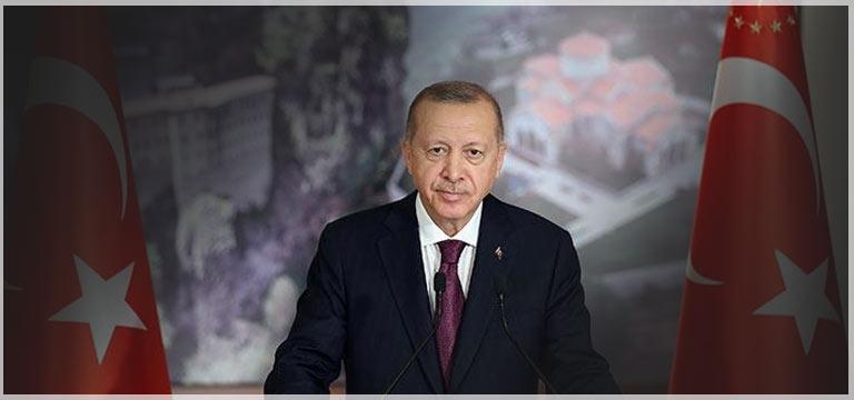 Cumhurbaşkanı Erdoğan Trabzonspor'u tebrik etti