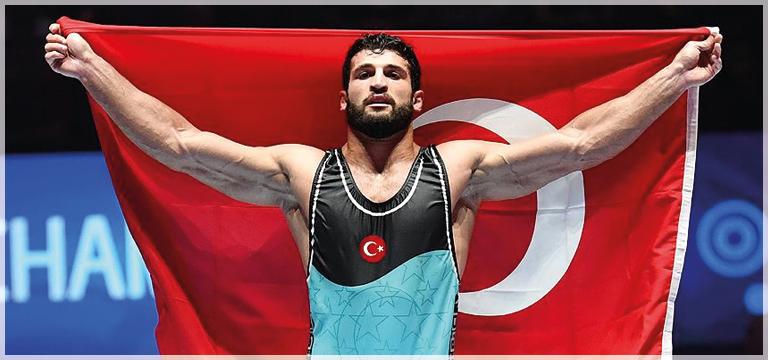 Milli güreşçi Metehan Başar, madalya kazanmayı hedefliyor