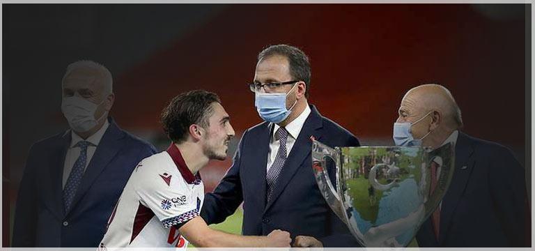 Muharrem Kasapoğlu'ndan Trabzonspor'a tebrik