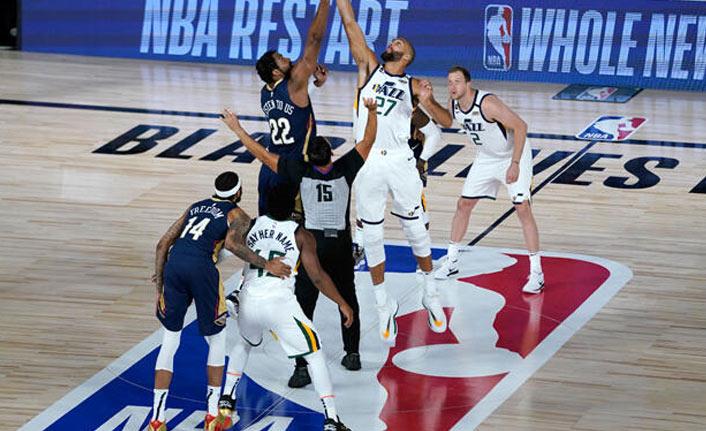 NBA yeniden başladı
