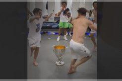 Trabzonsporlu futbolcular coştu