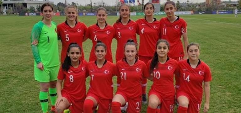 Genç Kız Milli Futbol Takımı aday kadrosu belli oldu
