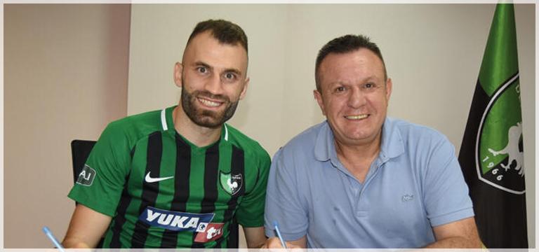 Mustafa Yumlu'yla 2 yıllık sözleşme imzalandı