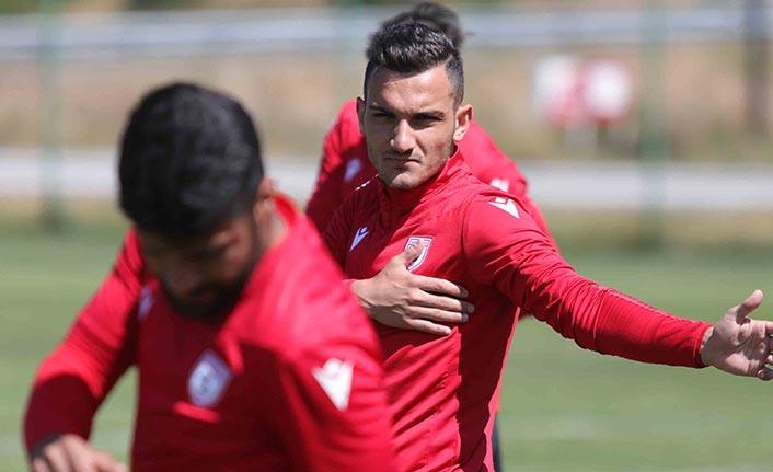 Samsunspor'da yeni transfer ilk idmanda