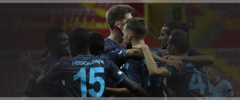 Trabzonspor gol yollarında sıkıntısız