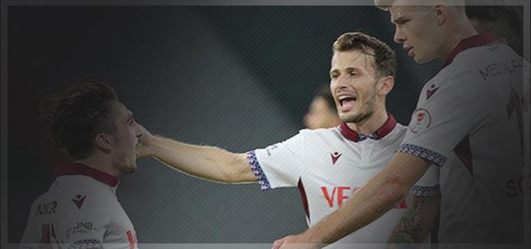 Trabzonspor rövanşı aldı