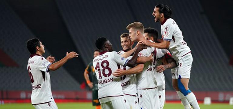 Trabzonspor Türkiye Kupasını aldı