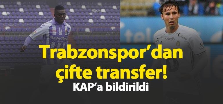 Trabzonspor'dan çifte transfer! Plaza ve Trondsen
