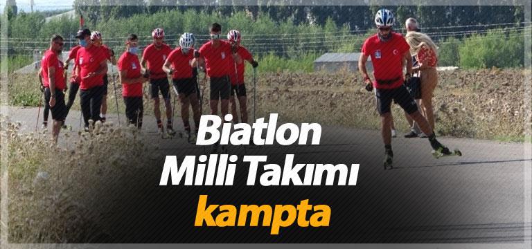 Biatlon Milli Takımı kampta