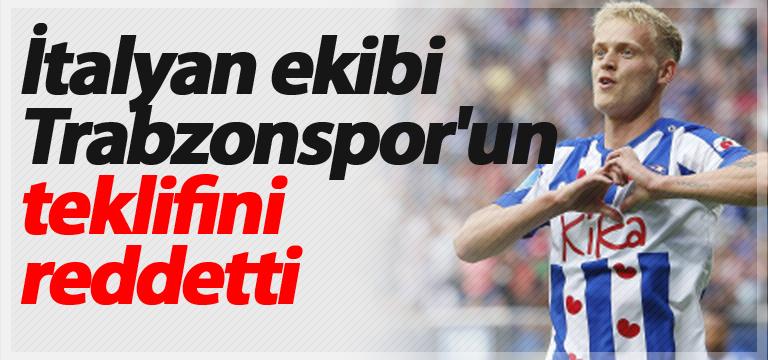 İtalyan ekibi Trabzonspor'un teklifini reddetti