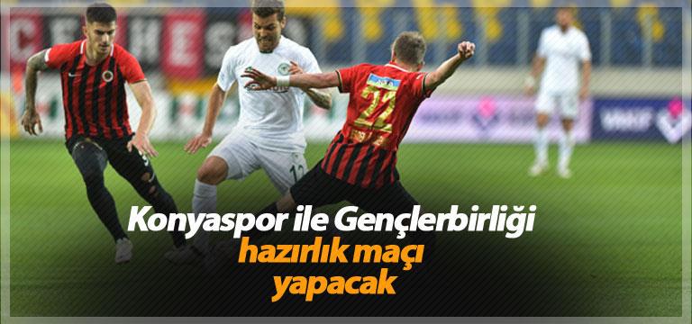Konyaspor ile Gençlerbirliği hazırlık maçı yapacak