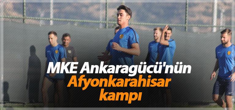 MKE Ankaragücü'nün Afyonkarahisar kampı
