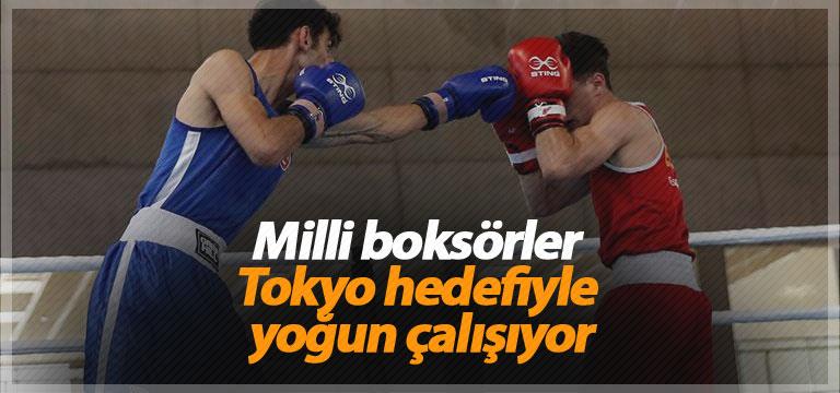 Milli boksörler Tokyo hedefiyle yoğun çalışıyor