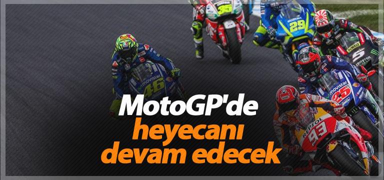MotoGP'de heyecan devam edecek