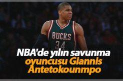 NBA'de yılın savunma oyuncusu Giannis Antetokounmpo