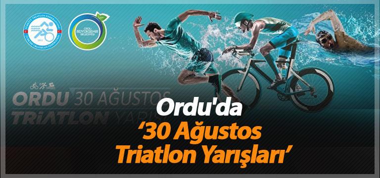 Ordu'da '30 Ağustos Triatlon Yarışları'