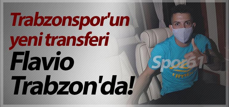 Trabzonspor'un yeni transferi Trabzon'da! Flávio Medeiros da Silva…