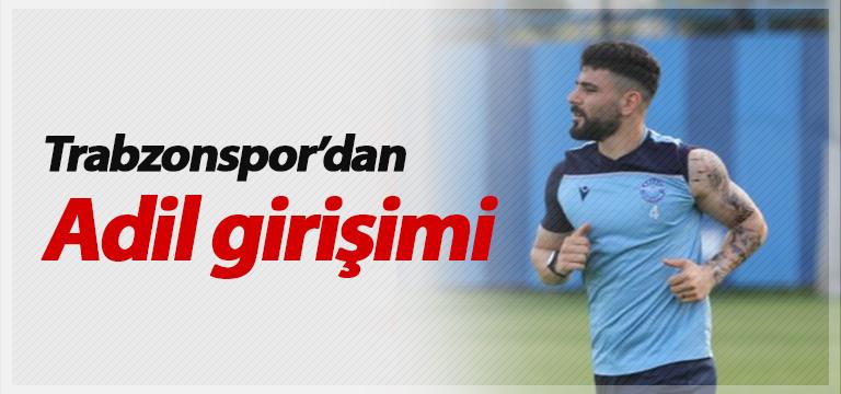 Trabzonspor'dan Adil girişimi