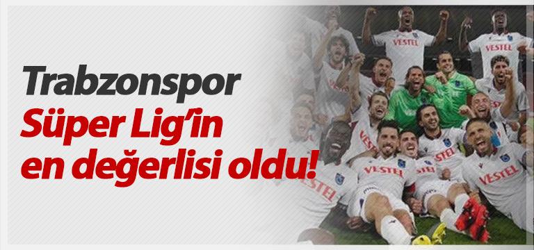 Trabzonspor Süper Lig'in en değerlisi oldu!