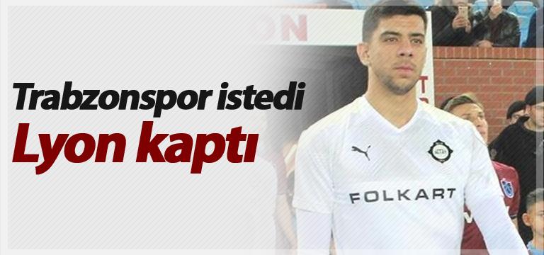 Trabzonspor istedi Lyon kaptı