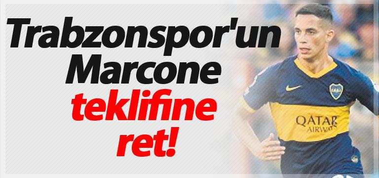 Trabzonspor'un Marcone teklifine ret!
