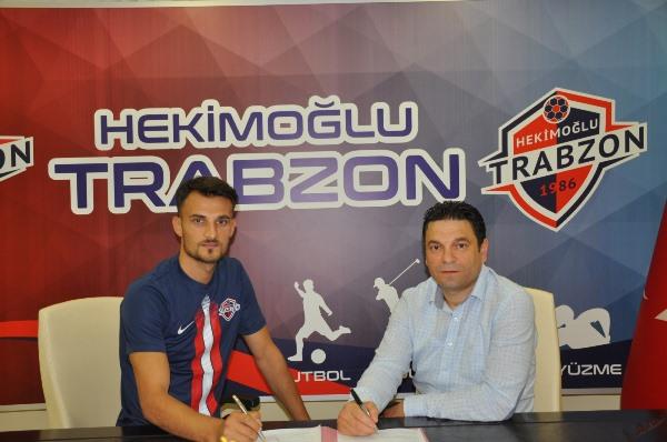 Hekimoğlu Trabzon Ender Gör'e imza attırdı