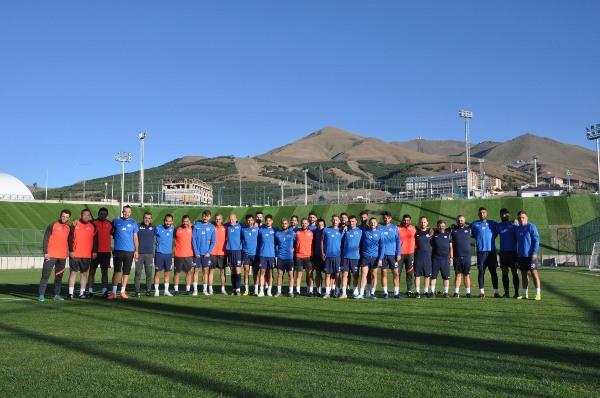 Hekimoğlu Trabzon Erzurum'da! kamp başladı