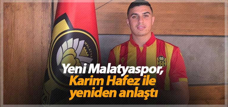 Yeni Malatyaspor, Karim Hafez ile yeniden anlaştı