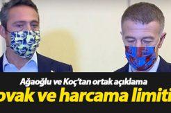 Ahmet Ağaoğlu ve Koç'tan Novak açıklaması