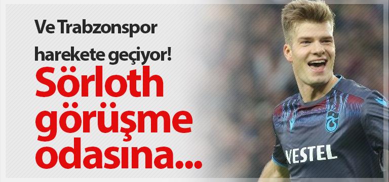 Trabzonspor Alexander Sörloth'a teklif yapacak