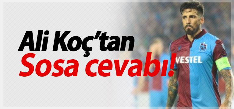 Fenerbahçe başkanından Jose Sosa açıklaması